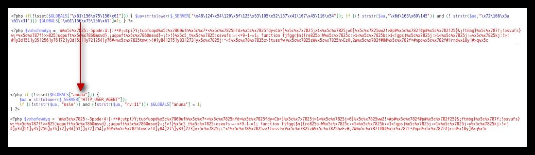 Pretvorba hex vrednosti v tekstovno obliko