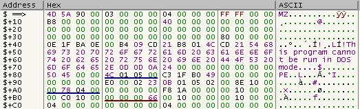 Analiza razpakirane kode