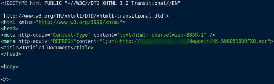 HTML koda v sporočilu pripeti datoteki
